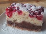 Mandlový koláč s rybízem recept