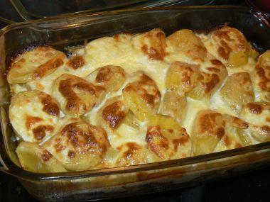 Zapékané brambory s lilkem