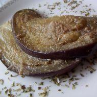 Dušený lilek na česneku recept