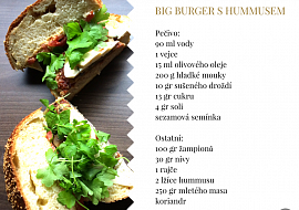 Big Burger s hummusem recept
