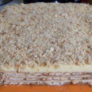 Nepečený dort z máslových sušenek recept