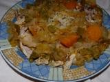 Kuře po senegalsku recept