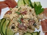 Středomořský těstovinový salát podle Jeny recept