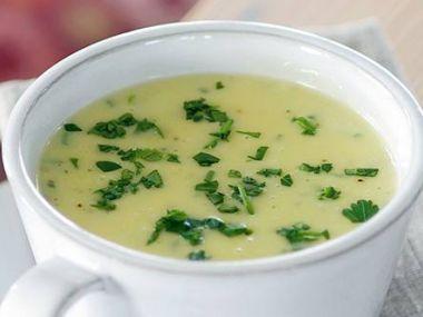 Bramborová polévka se smetanou