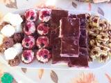 Kakaové košíčky s tvarohovo-pudinkovým krémem recept ...