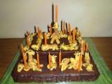 Žirafový dort recept