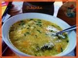 Strouhaná polévka čarodějka recept