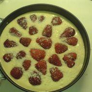Nepečený piškotový dort s ovocem recept