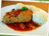 Kuře na bazalce v rajčatovém lůžku recept