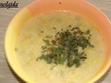 Jáhlovo-sýrová polévka recept