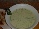 Bílá cuketová česnečka recept