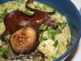 Bylinkovo-houbová polévka recept