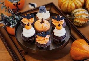 Jablkovo  skořicové cupcakes