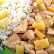 Chilli ananasové kuřecí recept