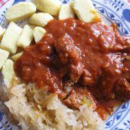 Moravský brabec na česneku recept