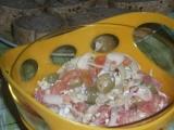 Rychlý pikantní zeleninový salát a paprikovým Cottage recept ...