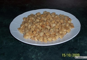Škvarky z domácí pekárny