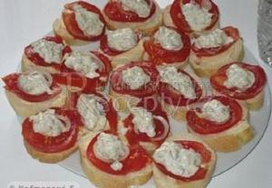 Rajčatové chlebíčky