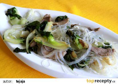 Jehněčí na čínskem zelí recept