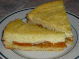 Meruňkový koláč s pudingem a zakysanou smetanou recept ...