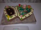 Narozeninový dort pro neteř recept