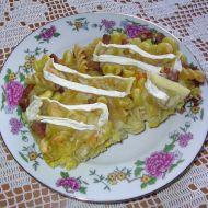 Těstoviny zapékané s hermelínem recept