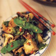 Opékané tofu se zeleninou recept