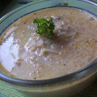 Zelná smetanová polévka recept