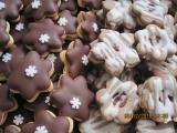 Čokoládové hvězdičky, Linecké kytičky recept