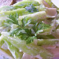 Paprikový salát s tvarohovou zálivkou recept
