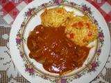 Rýžový pilaf s játry recept