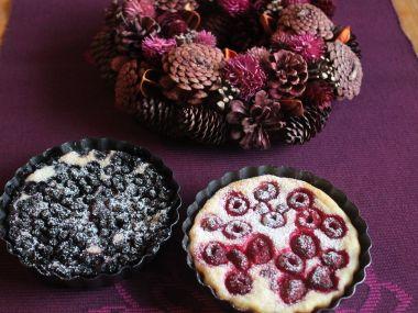 Lehký tvarohový koláč s ovocem