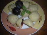 Švestkové knedlíky z bramborového těsta recept