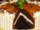 Meruňkový dortík recept