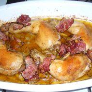Kuřecí stehna na majoránce recept