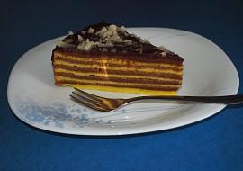 Pruhovaný dort, postupně pečený recept