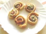 Nivovo-česnekové šneky recept