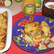 Brambory zapečené s brokolicí recept