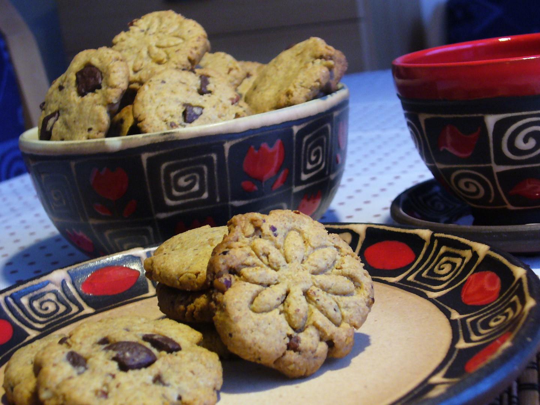 Sušenky s arašídovým máslem a ořechy recept