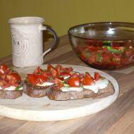 Balzamiková rajčátka recept