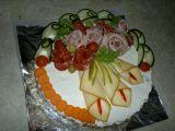 Slaný dort z aspiku recept