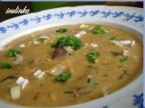 Houbová polévka na paprice recept