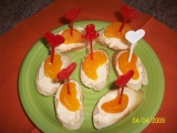 Jednohubky s česnekovou pomazánkou recept