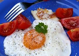 Smažená vejce s tvarohem  italská specialita recept