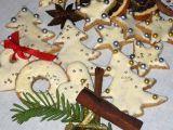 Mandlová vánoční kolečka a hvězdičky na stromeček recept ...