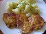 Řízečky v sýrovo-česnekovém těstíčku recept