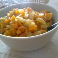 Dušená mrkev s jablkem recept