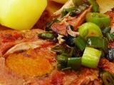 Vepřová roláda plněná mrkví a bazalkou recept