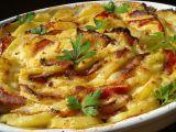 Zapečené křenové brambory recept