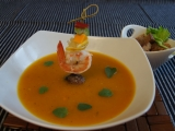 Thajská rybí polévka recept